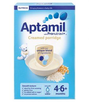 Aptamil 4 Month Creamy Porridge Packet
