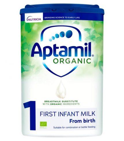 Aptamil Organic 1 First Baby Milk Formula