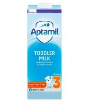 Aptamil Stage 3 Growing Up Milk 1-2 Years 1 litre Ready to Drink